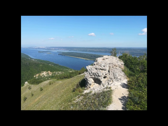 Гора Стрельная на Самарской Луке