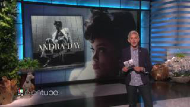 Andra Day - Rise Up Live On Ellen