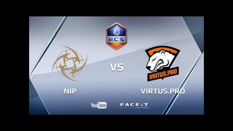 Virtus.pro vs NiP, cache cobblestone, ECS Season 4 Europe