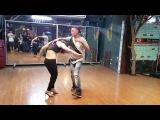 Heart Zouk Dance - Zouk Demo Workshop by China SoulZouk with Nhi Miu Heart Zouk