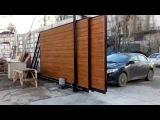 Откатные телескопические ворота с автоматикой Симферополь, Крым