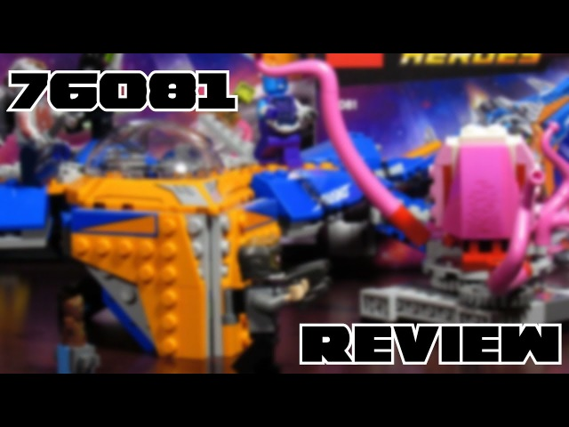 LEGO Marvel Super Heroes 76081 The Milano vs The Abilisk Review