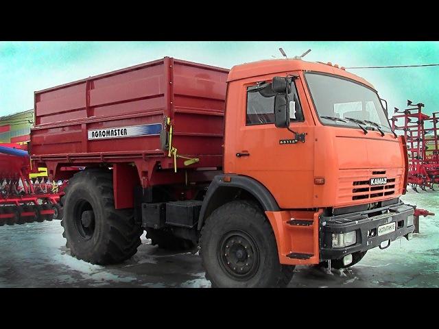 AUTOTRAC U-260 - грузовик, трактор и тягач в одном лице: Камаз с колесами от Кировца. Обзор 2018