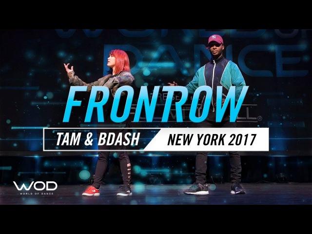 Tam Rapp BDash   FrontRow   World of Dance New York 2017   WODNY17   Danceproject.info