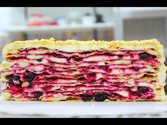 НЕРЕАЛЬНО ВКУСНЫЙ торт с КРЕМОМ ПЛОМБИР!