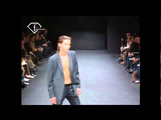 fashiontv | FTV.com - MODELS DAVID SMITH & DANILA POLYAKOV HOM AH 2003/2004