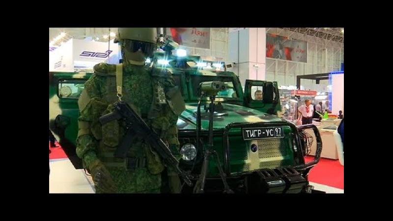 «Воентелеком» представил уникальную машину связи «Тигр-УС» на форуме «Армия-2017»