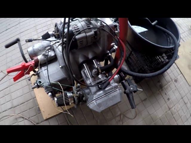 Двигатель ИМЗ 8.104 жидкостного охлаждения