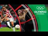 Football vs Rhythmic Gymnastics Margarita Mamun and Heather O'Reilly Change Sports  Sports Swap
