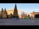 Установили главную новогоднюю ЁЛКУ 2018 в Каменском.