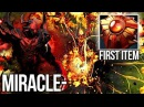 Miracle- Shadow Fiend Solar Crest First Item New Style? 9k MMR Dota 2