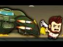 МЕГА БОСС УНИЧТОЖЕН Мульт Игра для детей про машинки БОИ С ПРИШЕЛЬЦАМИ Aliens Drive Me C...
