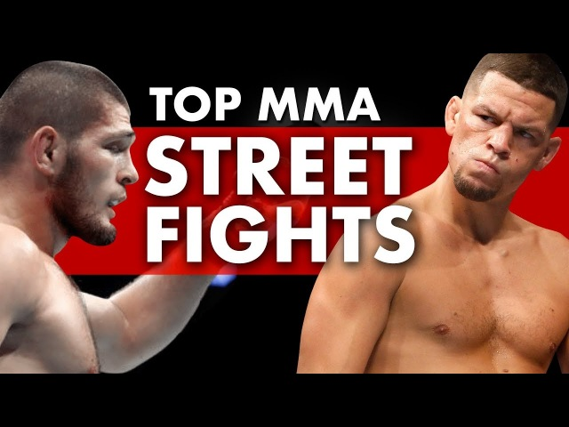 15 Craziest MMA Street Fights Caught On Video