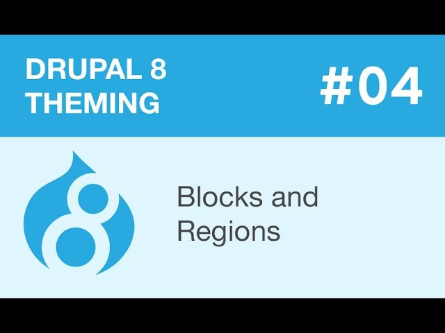 Drupal 8 Theming - Part 04 - Blocks and Regions - видео с YouTube-канала Watch and Learn