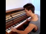 Деспасито на пианино!!! парень молодец!!!