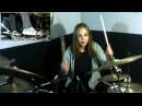 Sepultura TERRITORY drum cover by Cri-Cri