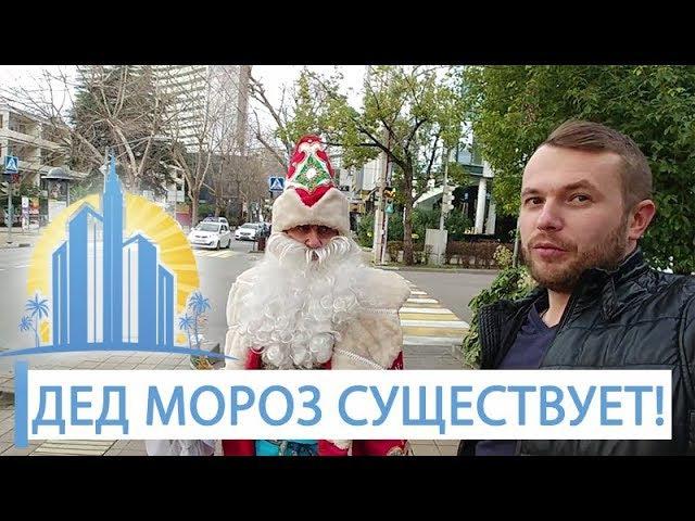 Дед Мороз в субтропиках существует! Новый год в Сочи АН Город Мечты