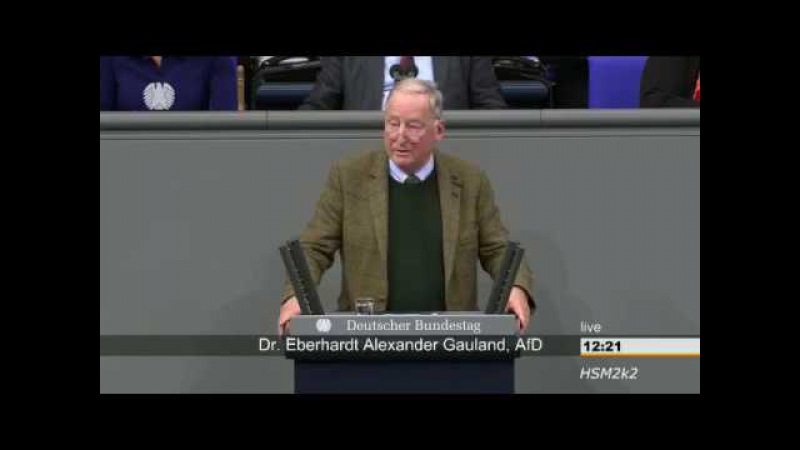 ► AfD - Dr. Alexander Gauland: Das offensichtliche Scheitern am Hindukusch eingestehen