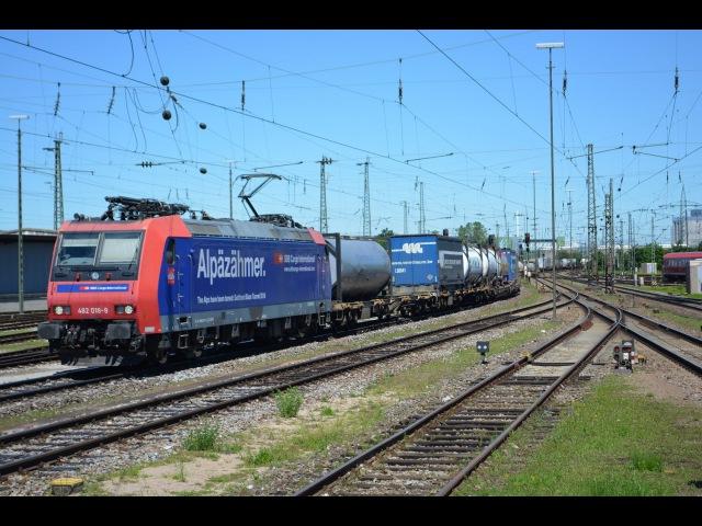 Grenzverkehr in Basel am 22.06.16 Teil 2 – «Basel Badischer Bhf und Pratteln»