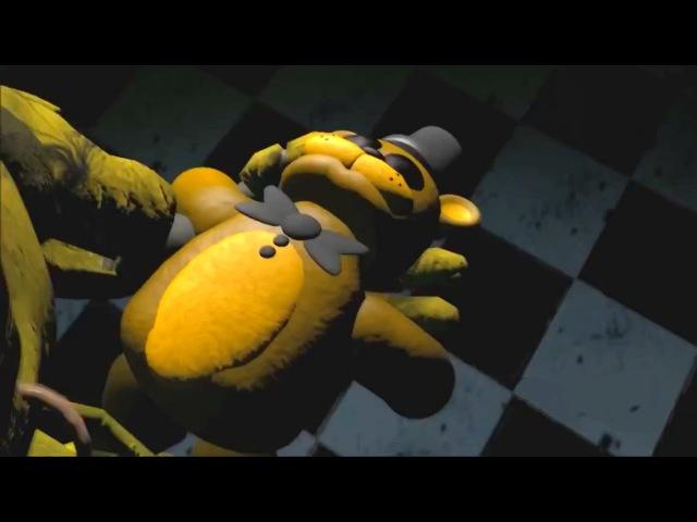 Воспоминания о Золотом Фредди - Пять Ночей с Фредди [Анимация] | Фнаф анимация Спрингтрапа