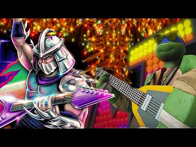 HAPPY NEW YEAR - Teenage Mutant Ninja Turtles ICE CREAM KITTY SONG - [TMNT LEGENDS UPDATE X]