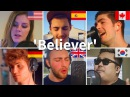 Who Sang It Better: Believer (South Korea, Spain, Germany, Canada, UK, USA)