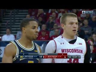 Michigan vs Wisconsin Basketball 2018 (Feb. 11)
