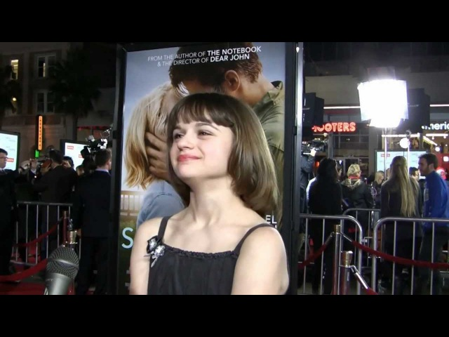 YAH interviews actress Joey King at Safe Haven Premiere in Los Angeles February 5, 2013
