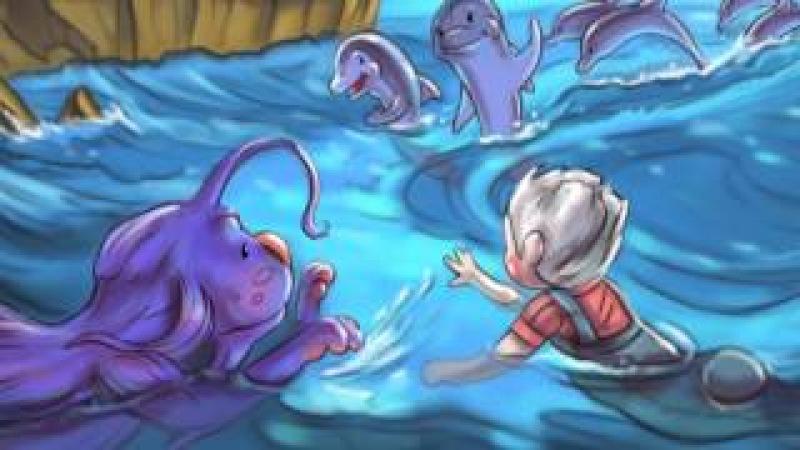 Подводные приключения и сражение с морскими чудовищами