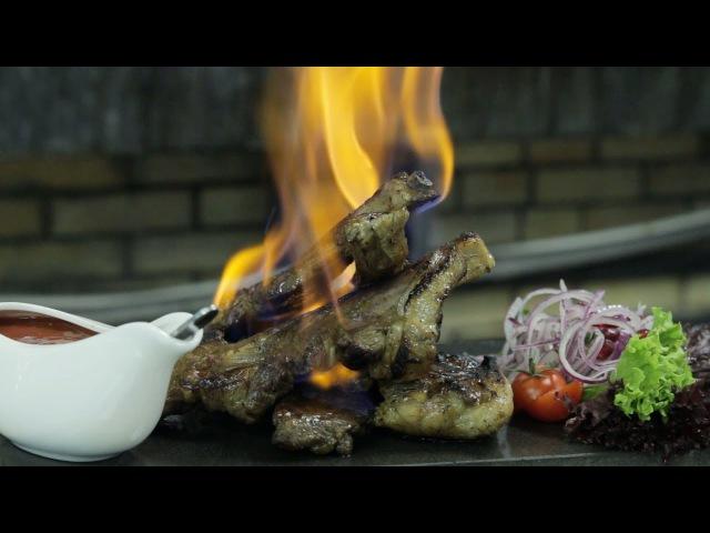 рекламный ролик для ресторана Zaferan