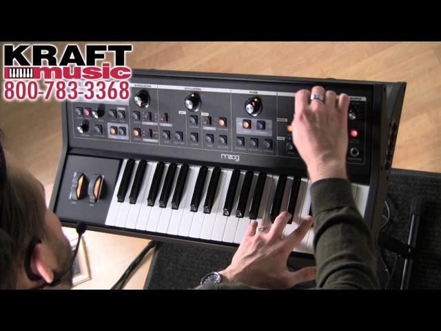 Kraft Music - Moog Little Phatty Demo with Jake Widgeon