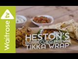 Heston Blumenthal's Barbecued Prawn Tikka Wrap Waitrose