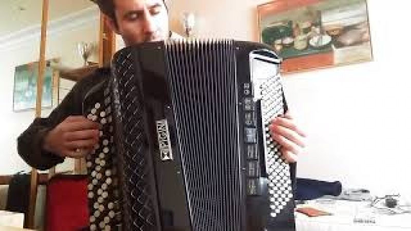 Fracture, by King Crimson, on the accordion