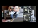 Walrus Audio ARP-87 Multi Function Delay Tech Demo