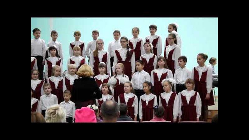 «Четыре таракана и сверчок» (итальянская песня, обработка А. Долуханяна) - Младши...