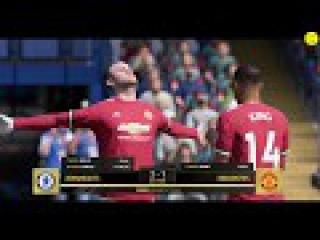 Красивейший гол Уэйна Руни/Wayne Rooney//FIFA18 дивизионы