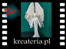 Jak zrobić anioła Powertex tutorial KreaCraftShow45