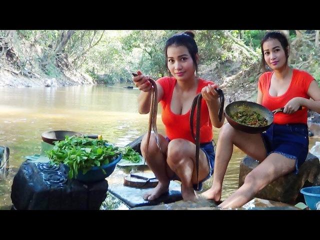 Великолепный рыбный жаркий угорь. Кхмерская кухня