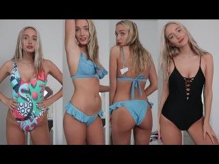 ASMR Whispered Swimwear Try On Haul (Zaful 3 Year Anniversary!) | GwenGwiz