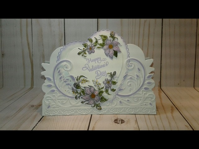 Heartfelt Creations Valetines Day CASE Card Process Video