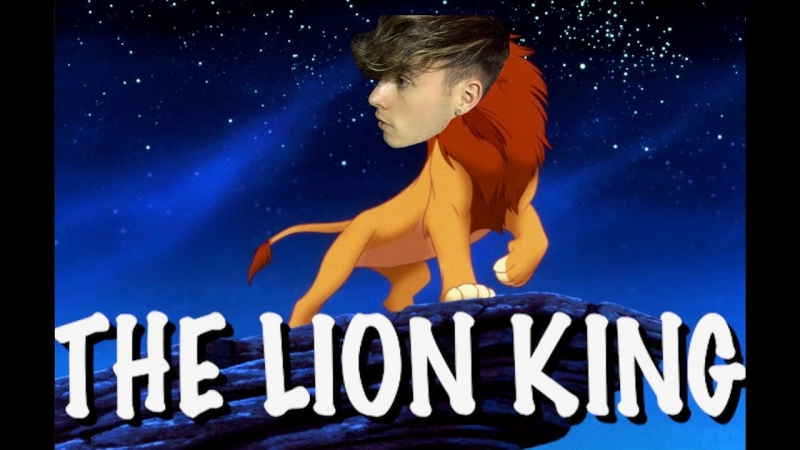 RE-CREATING THE LION KING!!
