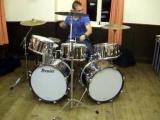 Premier drum solo (Keith Moon (ish!))