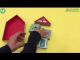 Книга-игра для знакомства с новыми словами и предметами