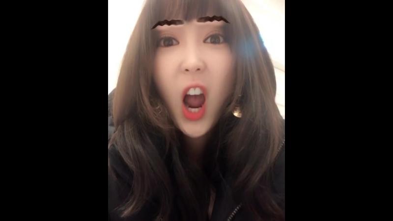[SNS] 180119 Hyerin @ Instagram Update