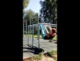 Тренировка на свежем воздухе ?Отлично подходит для девушек?✔ Комплекс упражнений для тренировки верха тела (облегчённый вариан