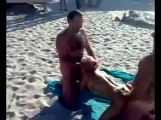 Казантип секс на пляже