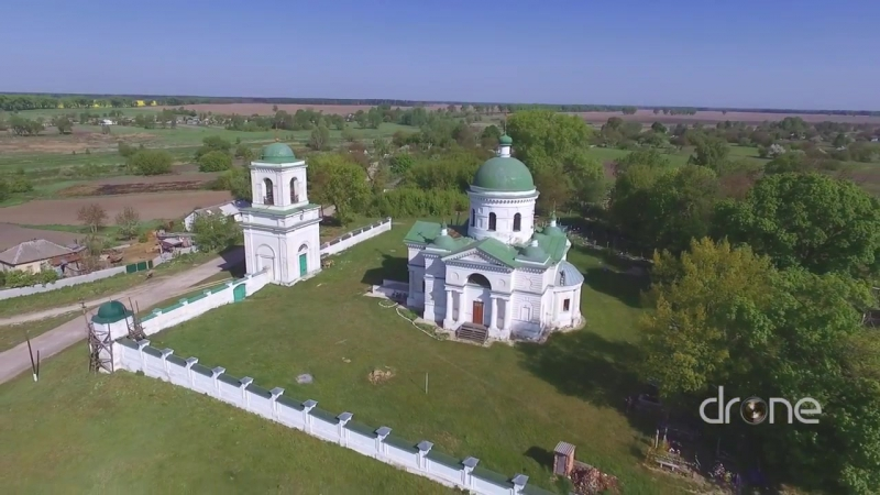 Михайлівська церква в селі Мостище на Чернігівщині