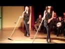 Ирландские танцы со швабрами A Night Out with WILD WEST IRISH TOURS Brush Dancing