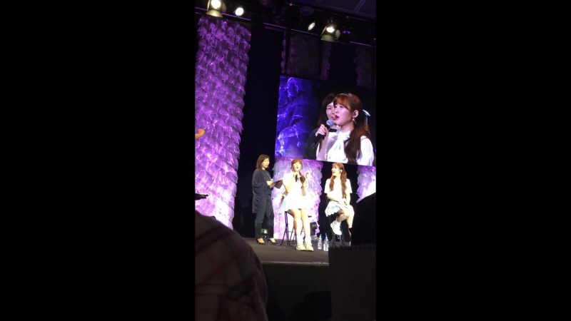 · Fancam · 170722 · OH MY GIRL · Фанмитинг