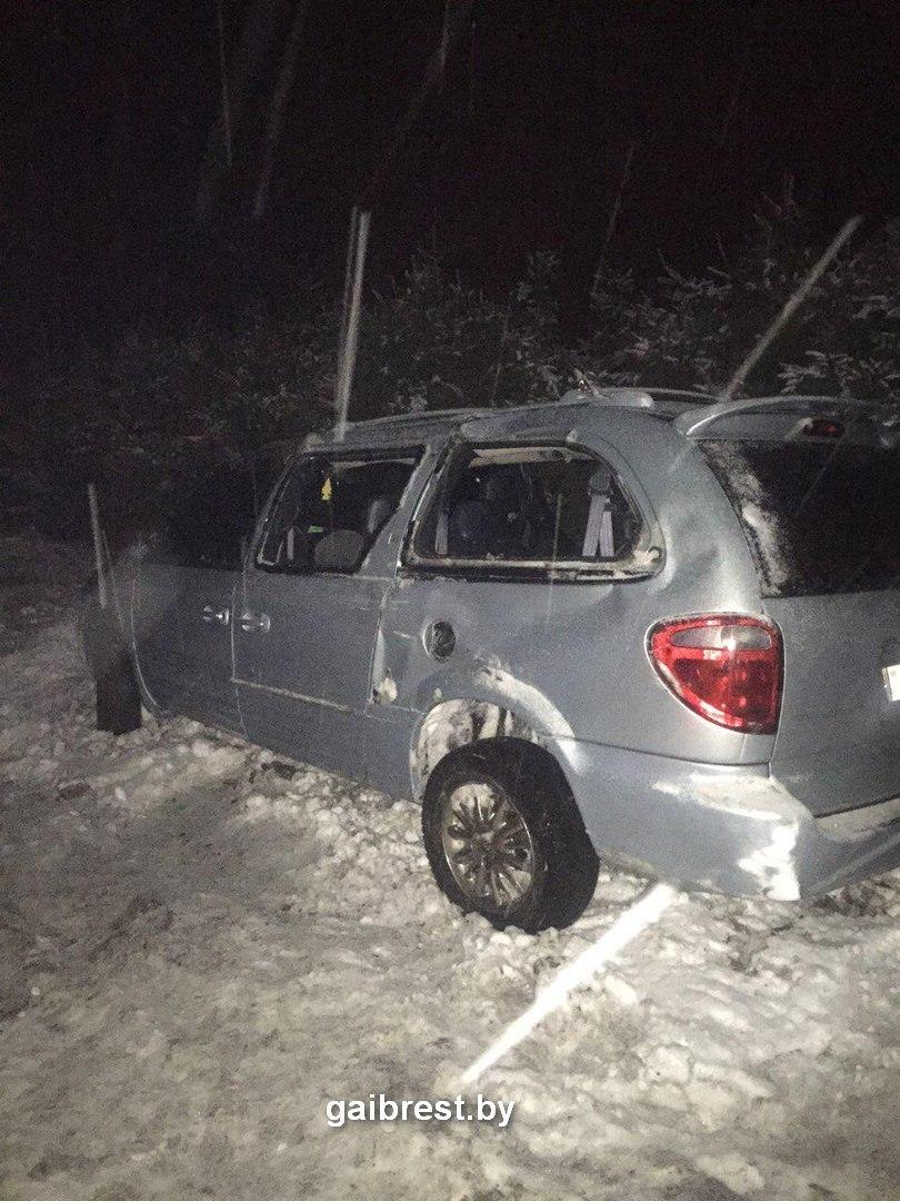 Ивацевичский район: в ДТП травмированы пассажиры авто